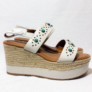 Zodiac Yana Stone Platform Wedge Sandal